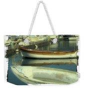 Boat Pier Weekender Tote Bag