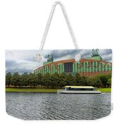 Boat Ride Past The Swan Resort Walt Disney World Weekender Tote Bag