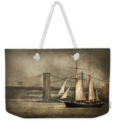 Boat - Sailing - Govenors Island Ny - Clipper City Weekender Tote Bag