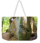 Boat-shaped Rock Wildcat Den State Park Weekender Tote Bag