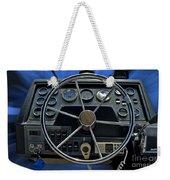 Boat Steering Wheel Weekender Tote Bag