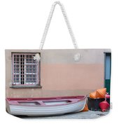 Boat Under A Window Weekender Tote Bag