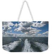 Boat Wake 01 Weekender Tote Bag