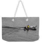 Boat Wake Weekender Tote Bag