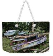 Boat Yard Weekender Tote Bag by Heather Applegate