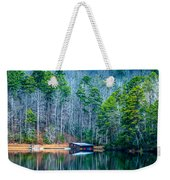 Boathouse On Pinnacle Lake Weekender Tote Bag
