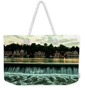 Boathouse Row And Fairmount Dam Weekender Tote Bag