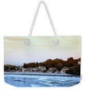 Boathouse Row And Farmount Dam Weekender Tote Bag