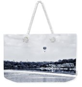 Boathouse Row And The Zoo Balloon Weekender Tote Bag