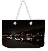 Boathouse Row At Night Weekender Tote Bag