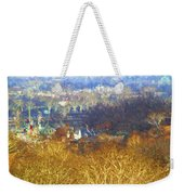 Boathouse Row Impasto Weekender Tote Bag
