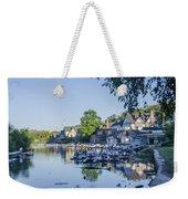 Boathouse Row In September Weekender Tote Bag
