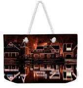 Boathouse Row Reflection Weekender Tote Bag