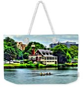 Boathouse Rowers On The Row Weekender Tote Bag