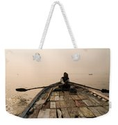 Boating At Sangam Weekender Tote Bag