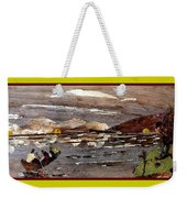 Boating In River Weekender Tote Bag