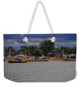 Boating On Lake Erie Weekender Tote Bag