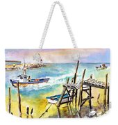 Boats And Boardwalks By Brittany 01 Weekender Tote Bag