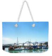 Boats And Bridge Weekender Tote Bag