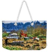 Boats And Heavy Equipment Weekender Tote Bag