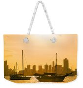 Boats And Skyscrapers Weekender Tote Bag