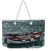 Boats At Rest Weekender Tote Bag