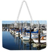 Boats At Rest. Sausalito. California. Weekender Tote Bag