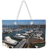 Boats At The San Francisco Pier 39 Docks 5d26004 Weekender Tote Bag