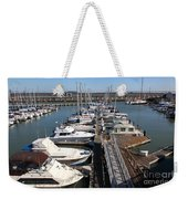 Boats At The San Francisco Pier 39 Docks 5d26005 Weekender Tote Bag