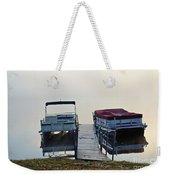 Boats By The Dock Weekender Tote Bag
