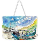 Boats In Barca De Alva 02 Weekender Tote Bag