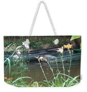 Boats In Giverny Weekender Tote Bag