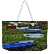 Boats In Marsh - Cape Neddick - Maine Weekender Tote Bag