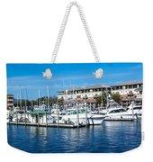 Boats In Port 5 Weekender Tote Bag