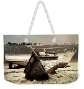 Boats On The Bay Weekender Tote Bag by Marco Oliveira