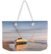 Accidentally - Boats On The Beach Weekender Tote Bag