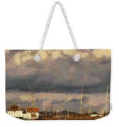 Boats On The River Weekender Tote Bag