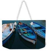 Boats Trio Weekender Tote Bag