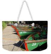 Rowboats Weekender Tote Bag