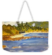 Boatsheds At Sandon Point Weekender Tote Bag