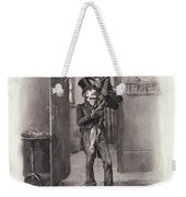 Bob Cratchit And Tiny Tim Weekender Tote Bag