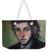 Bob Dylan Portrait In Colored Pencil  Weekender Tote Bag