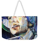 Bob Dylan Tangled Up In Blue Weekender Tote Bag