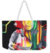 Bob Marley And Rasta Lion Weekender Tote Bag