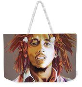 Bob Marley Earth Tones Weekender Tote Bag