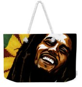 Bob Marley Rastafarian Weekender Tote Bag
