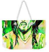 Bob Marley Watercolor Portrait.9 Weekender Tote Bag