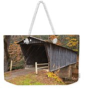 Bob White Covered Bridge Weekender Tote Bag