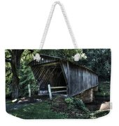 Bob White's Covered Bridge Weekender Tote Bag