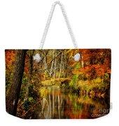 Bob's Creek Weekender Tote Bag by Lois Bryan